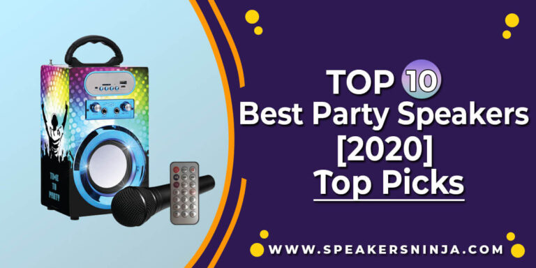 The 10 Best Party Speakers This Year - An Updated List