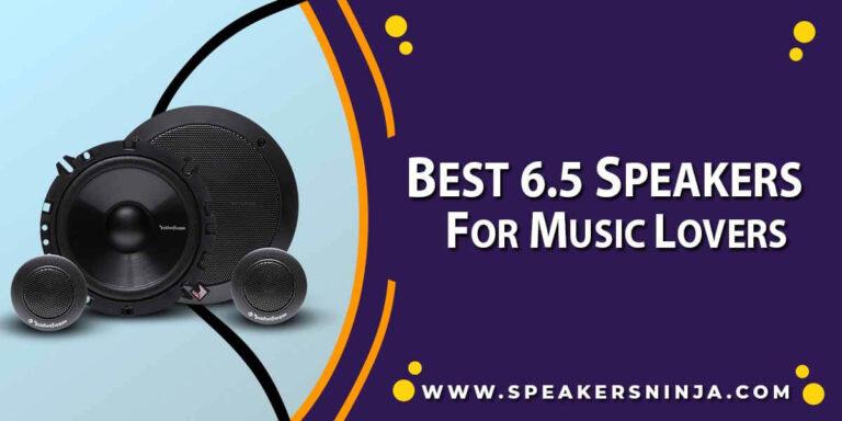 Best 6.5 Speakers
