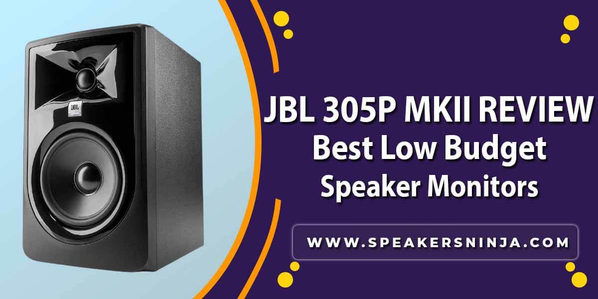 jbl 305p mkii review