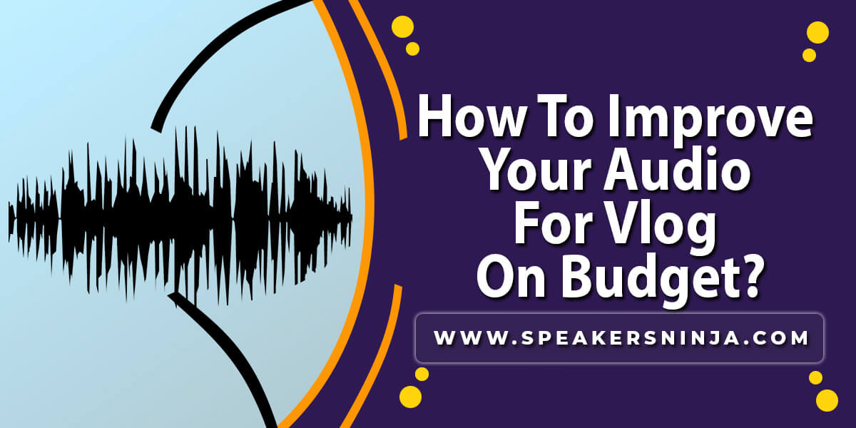 How to Improve your Audio for Vlog On Budget